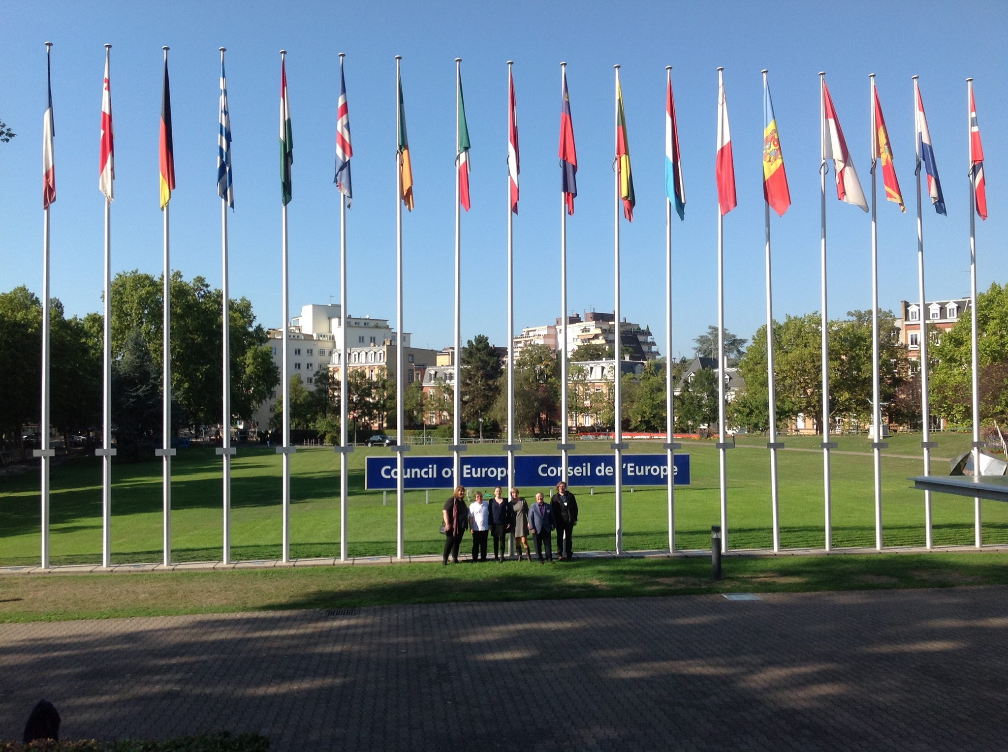 OII Europe at the Council of Europe, Stasbourg 2015