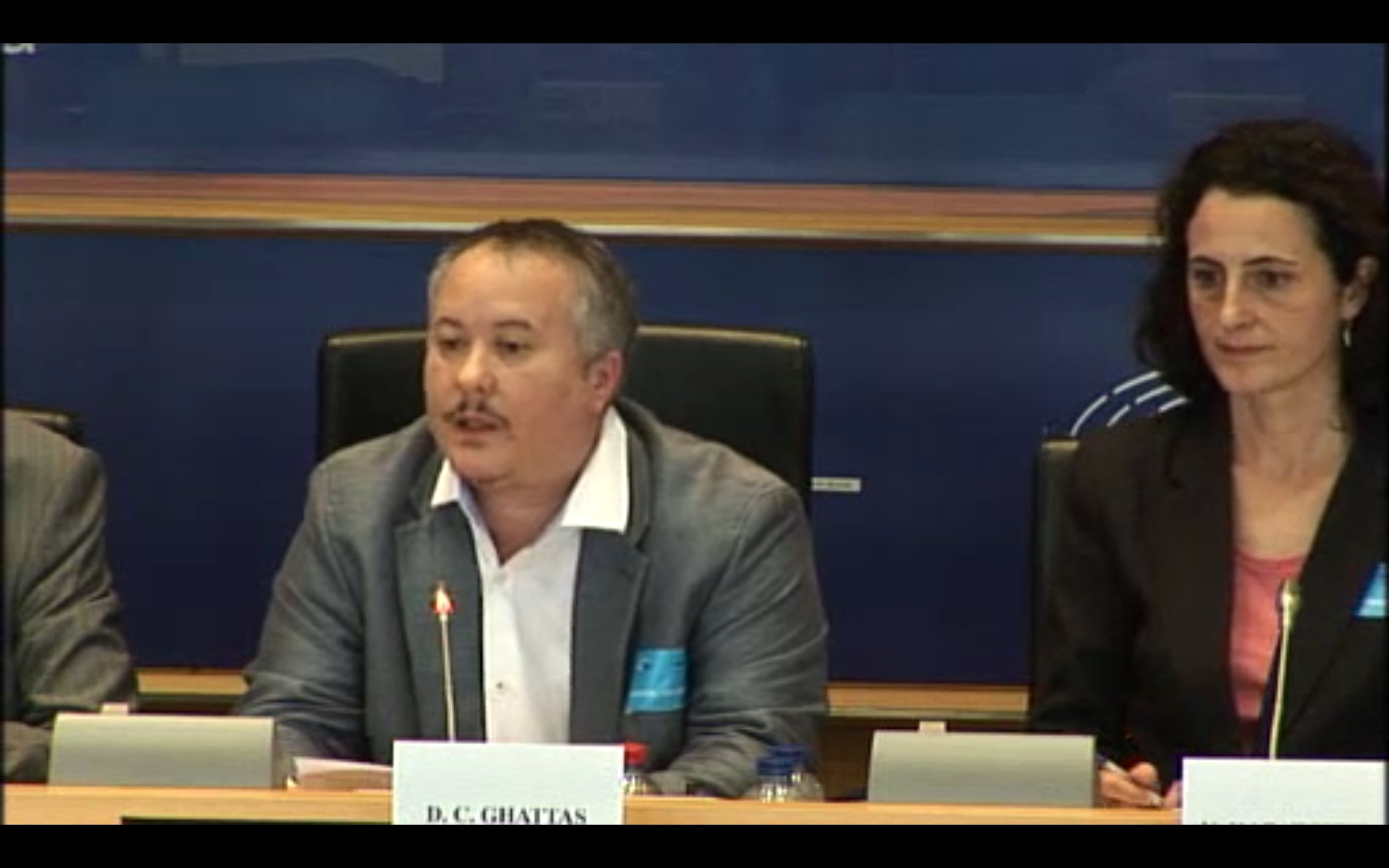 Intersex person speaks in the European Parliament for the first time ever today