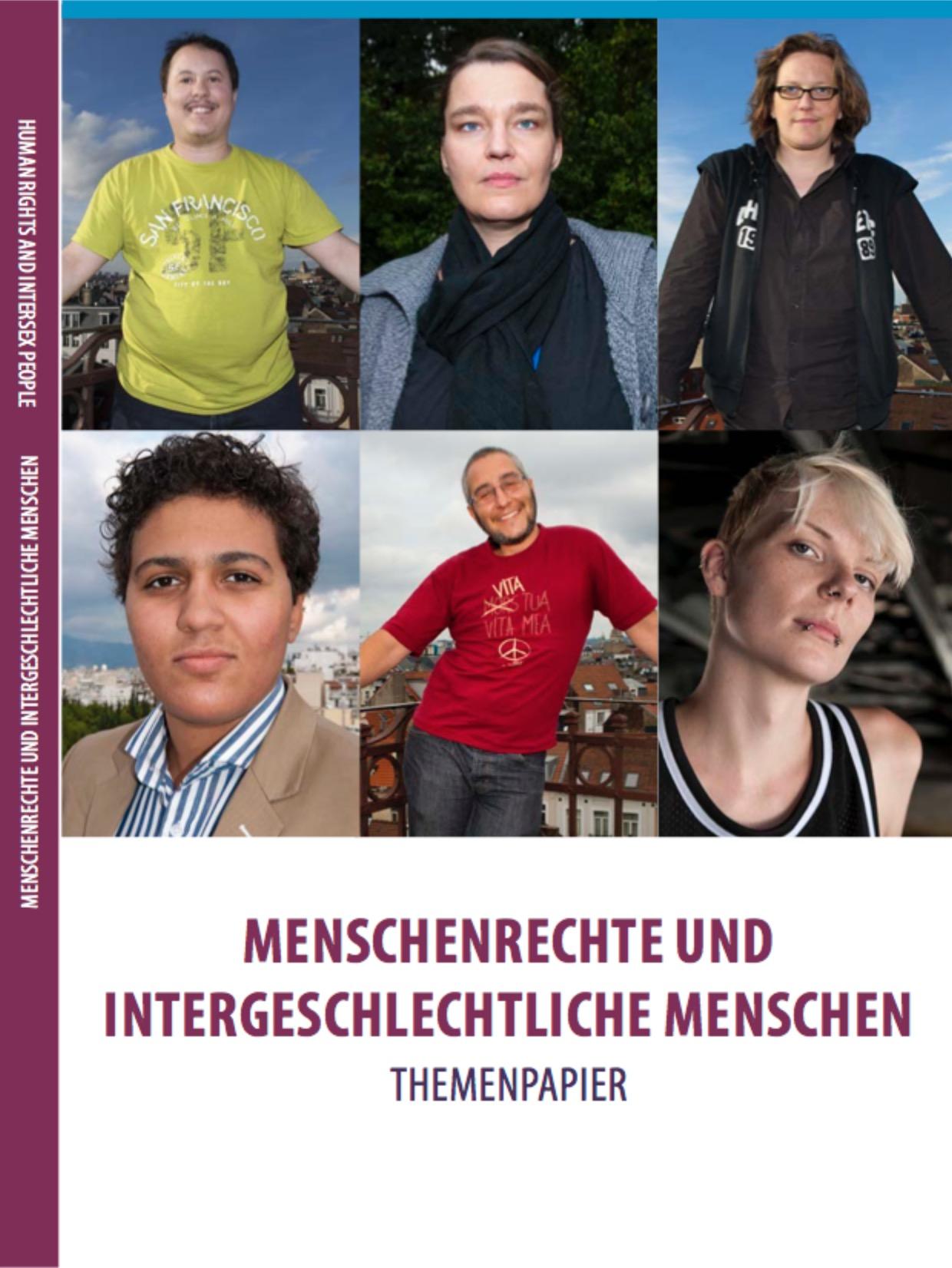 Issue Paper COHR – Themenpapier