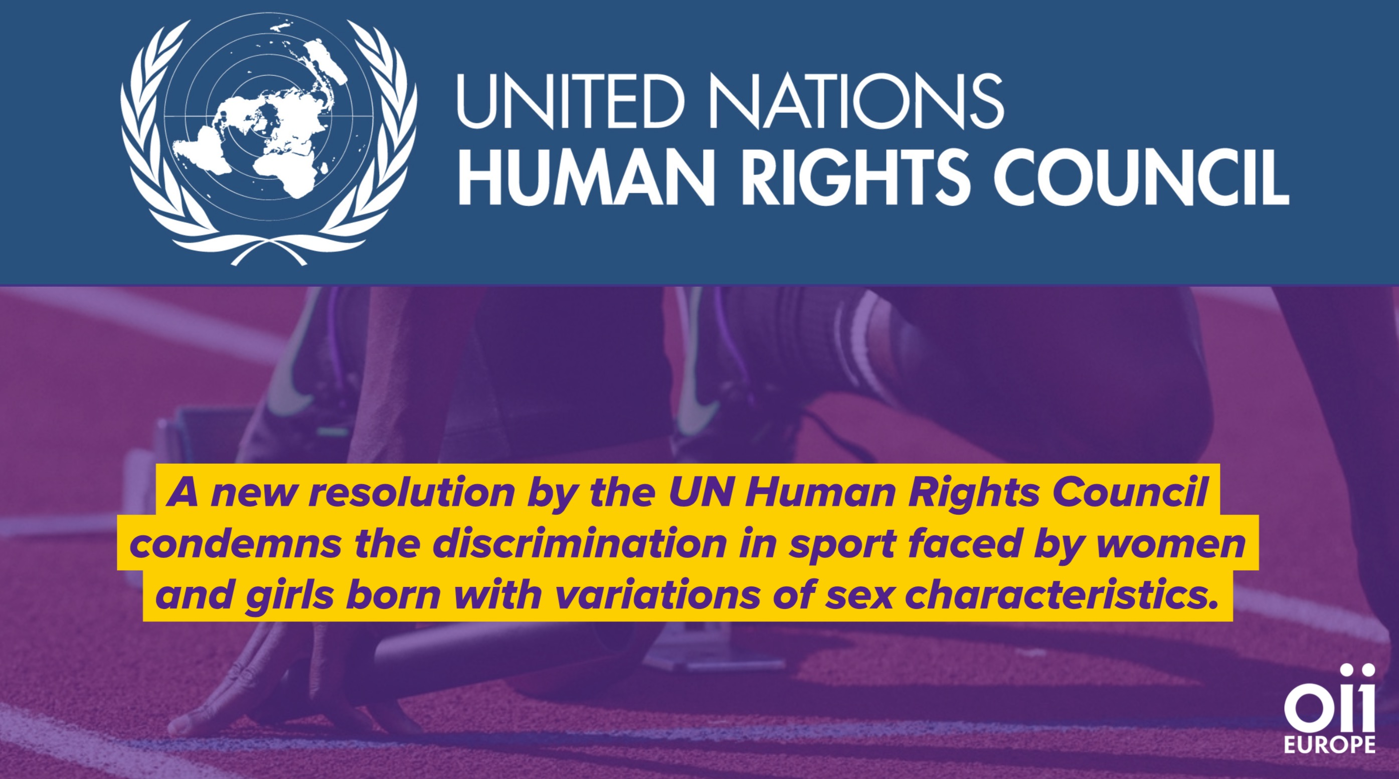 A groundbreaking resolution has been adopted by the UN Human Rights Council on the elimination of discrimination against women and girls in sport.