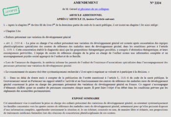 image of amendment of french bioethic law