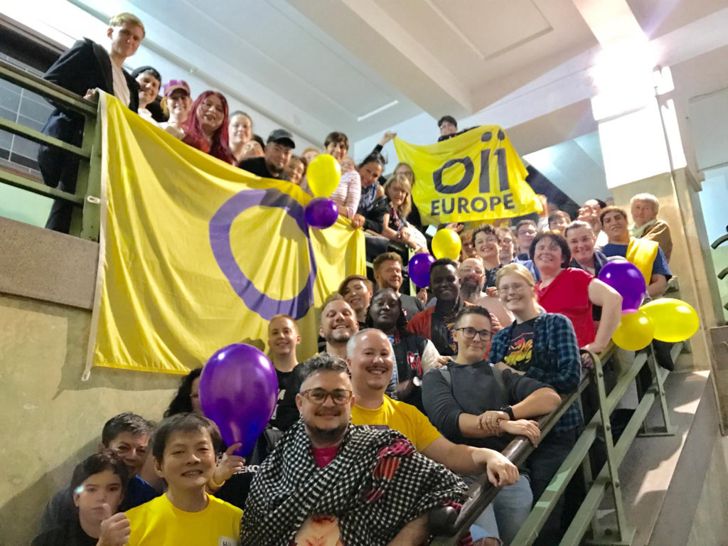 Group photo OII Europe 3rd intersex community event and conference Zagreb 2019