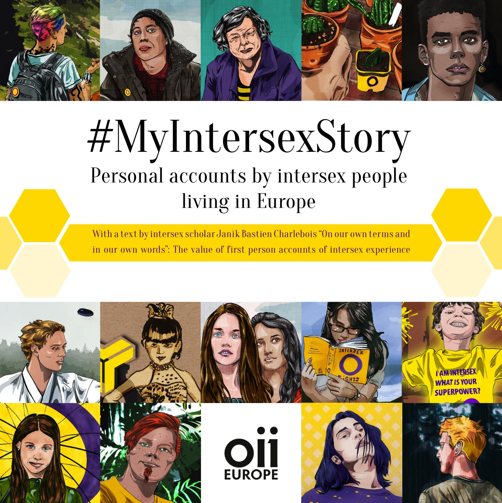#MyIntersexStory – Personal accounts by intersex people living in Europe
