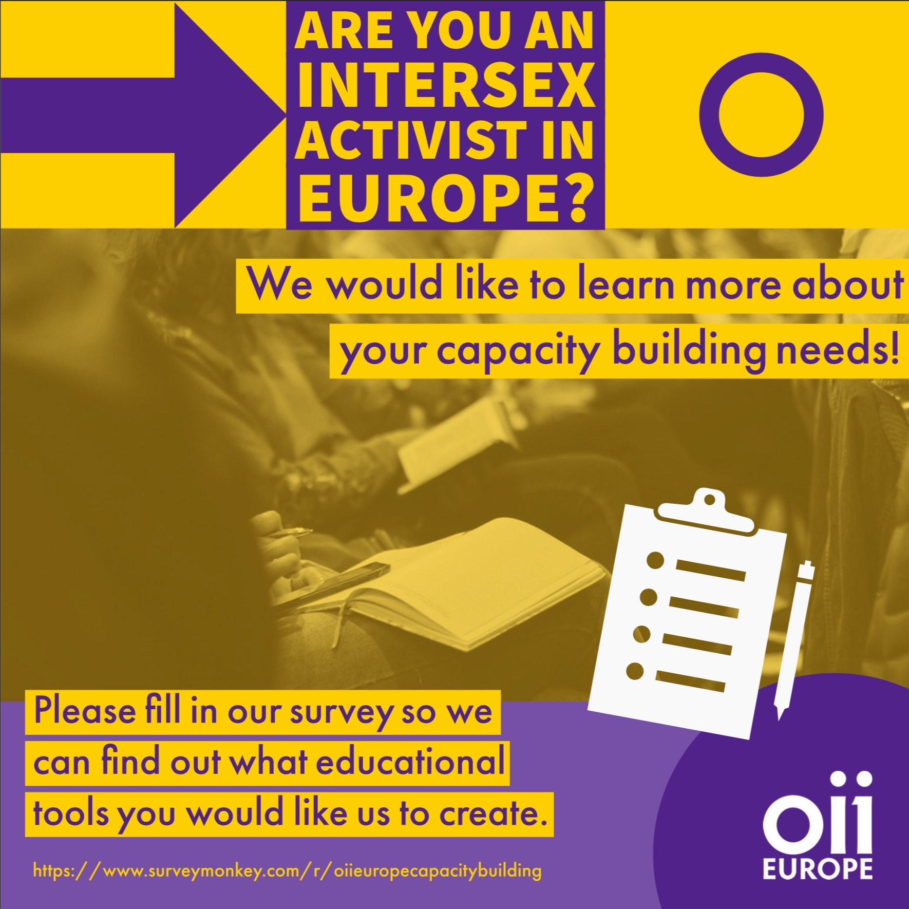 Assessing Capacity Building Needs Across Europe OII Europe Survey — Deadline July 12th 2020