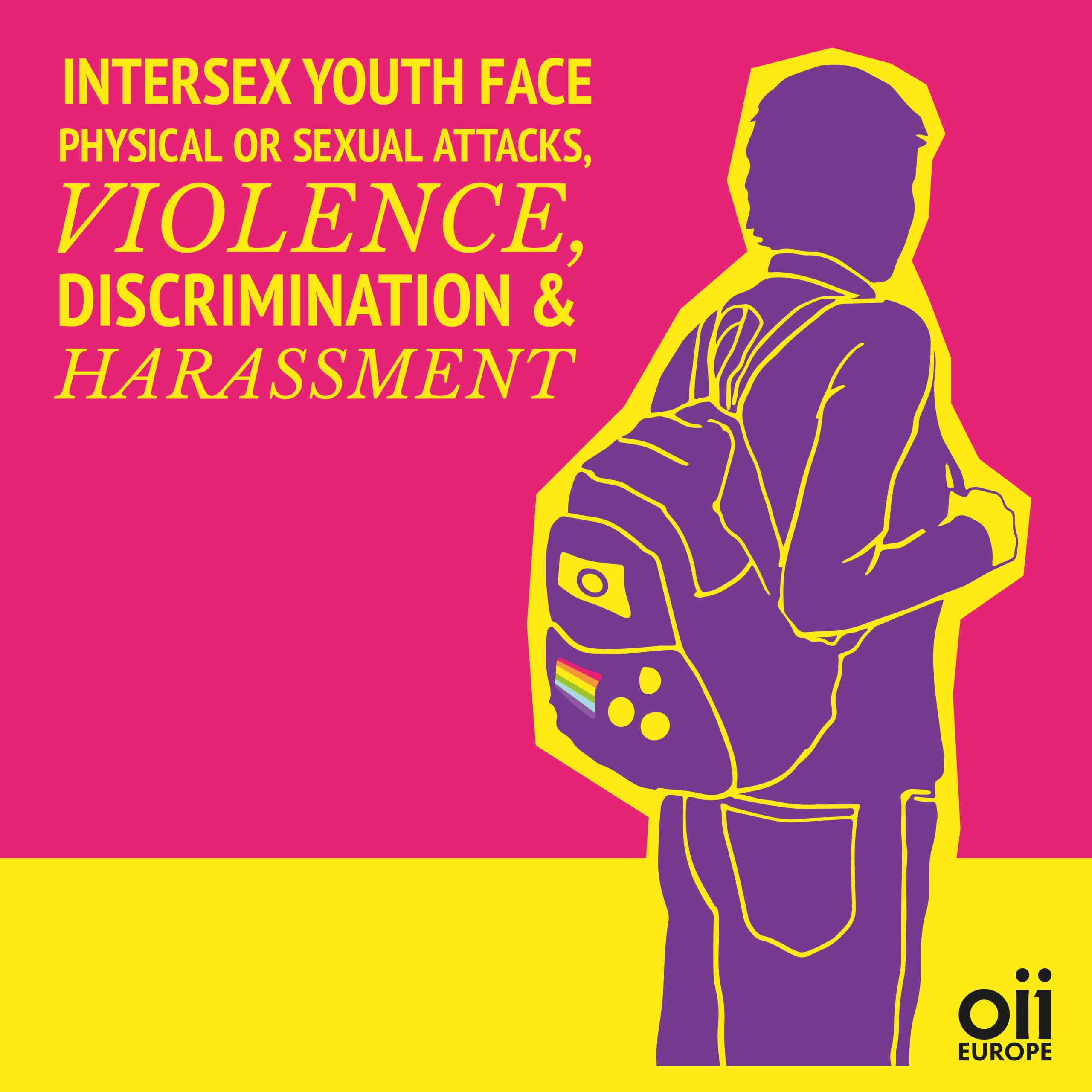Intersex youth face discrimination, physical violence and harassment