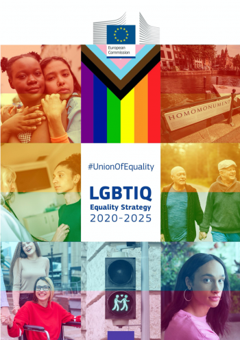 cover page of the EC LGBTIQ Strategy 2020-2025