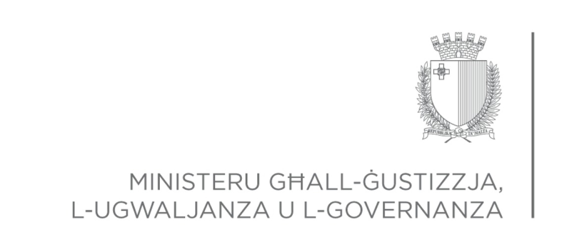 MINISTRY FOR JUSTICE, EQUALITY AND GOVERNANCE Malta Logo