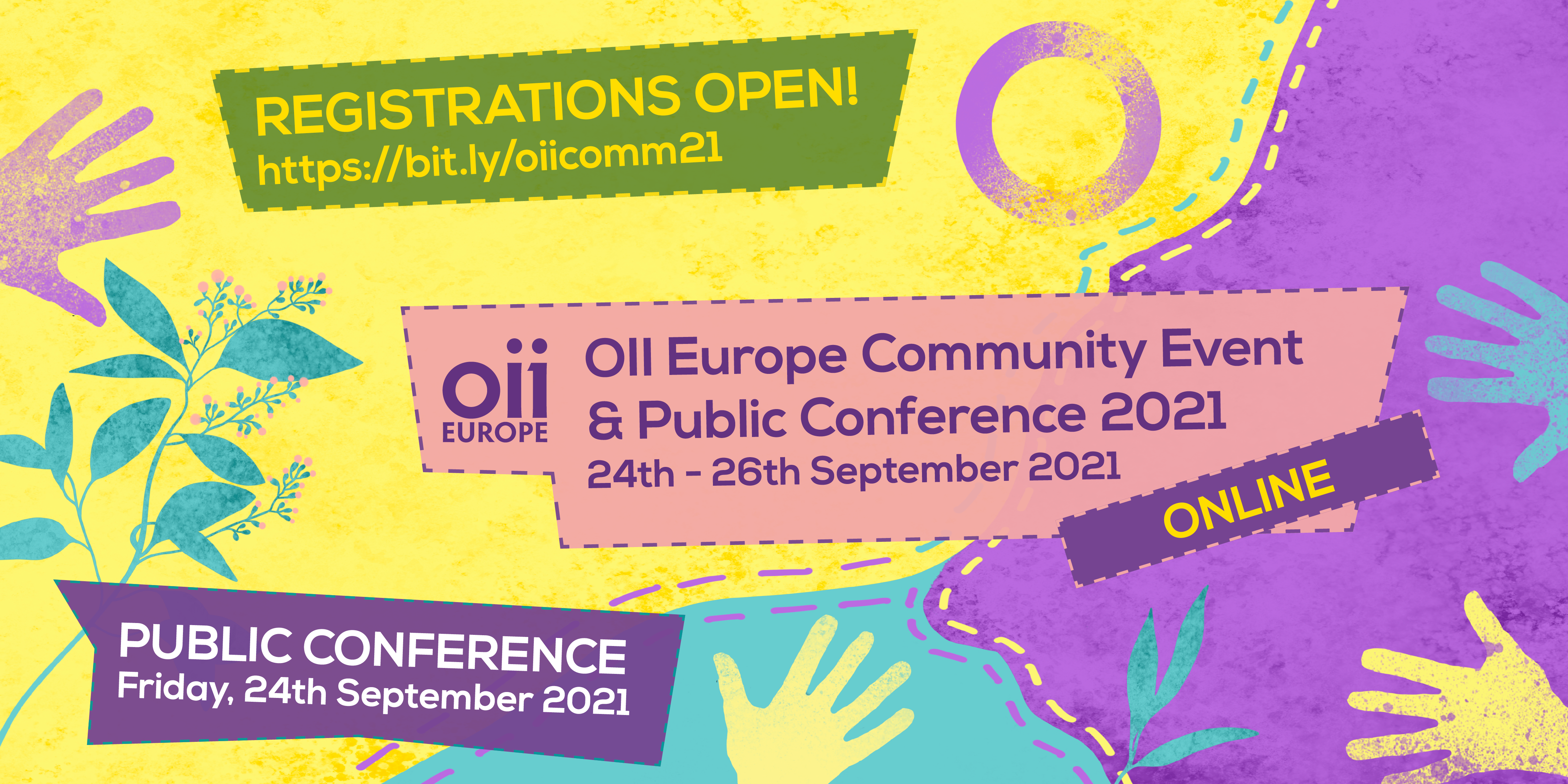 OII Europe Online Community Event and Public Conference 2021 Registration